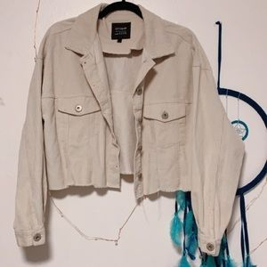 Cotton On Cream Corduroy Jacket